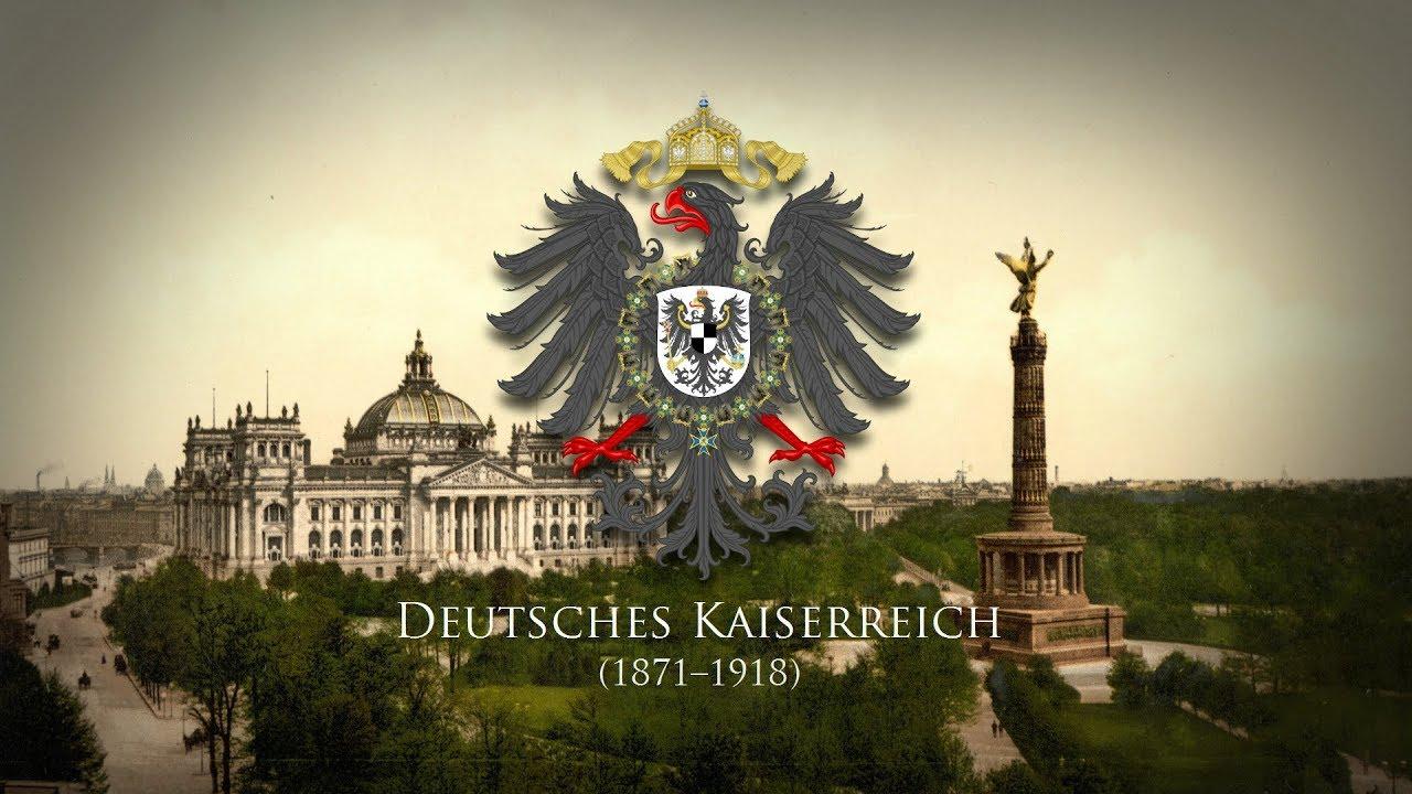 deutsches kaiserreich 1871 1918 soldatenlied o deutschland hoch in ehren youtube. Black Bedroom Furniture Sets. Home Design Ideas