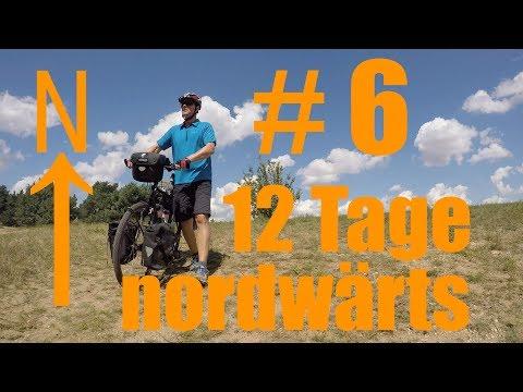 Radreise - 12 Tage nordwärts #6 - Unterwegs auf dem Radweg Berlin-Leipzig