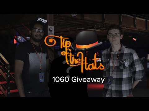 Tip of the Hats 2017 - 1060 Giveaway with Geel and Tagg