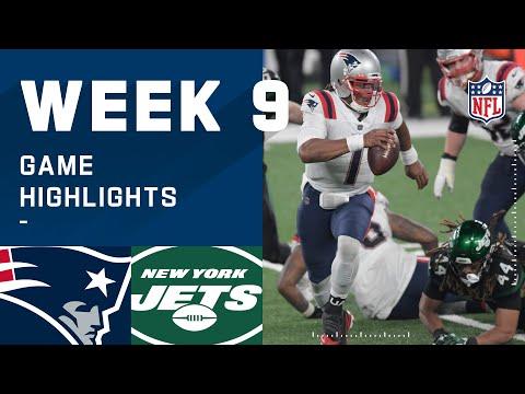 Patriots vs. Jets Week 9 Highlights   NFL 2020