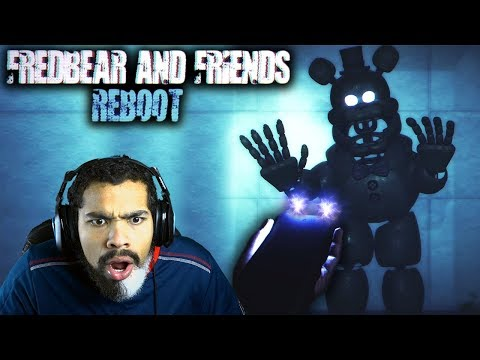 TASE HIM RIGHT NOW!! | Fredbear and Friends: Reboot [ENDING + Extras]
