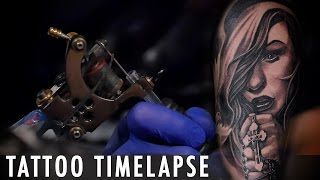 Tattoo Timelapse - David Garcia