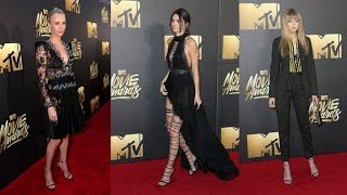 MTV Movie Awards: Charlize Theron, Kendall Jenner and Gigi Hadid Flaunt Sexy Sheer Dresses
