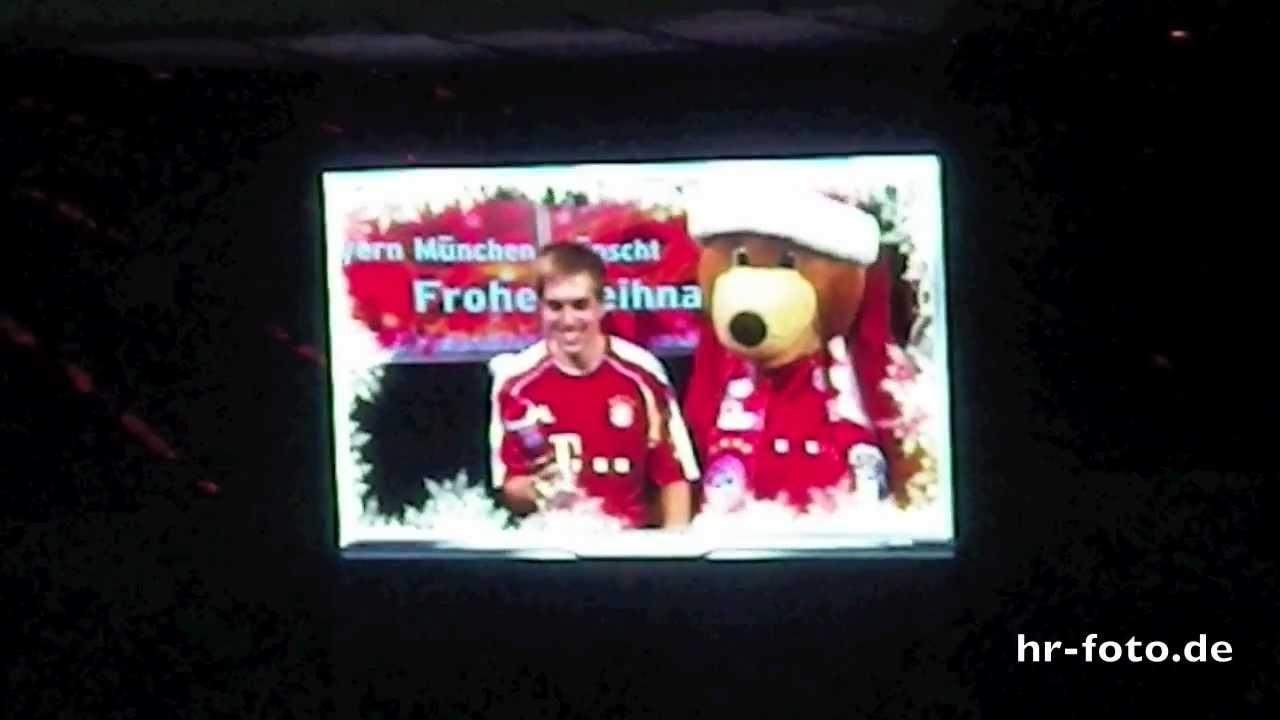 Fc Bayern Wünscht Frohe Weihnachten.Fc Bayern München Wünscht Frohe Weihnachten 2011