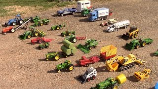 A Tour of My 1/16th Scale Toy Tractor Collection