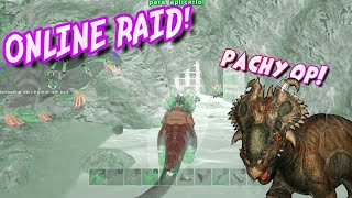 RAIDEO ONLINE A LO BESTIA !!  (Neca Ark Server) | Ark Survival Evolved PS4 Español