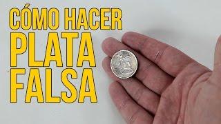 Cómo hacer plata falsa (Experimentos Caseros)