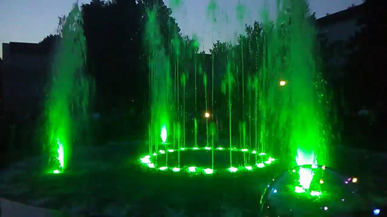 Музичний фонтан у Миргороді