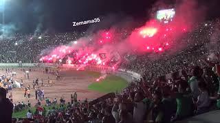 لقطة الأسبوع، بقيادة الكابو جماهير الرجاء تهتز بأغنية رجاوي فلسطيني في مباراة هلال القدس الفلسطيني
