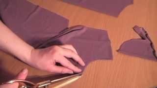 Пошив весеннего платья - урок 2 (раскрой)(, 2013-05-03T06:52:32.000Z)
