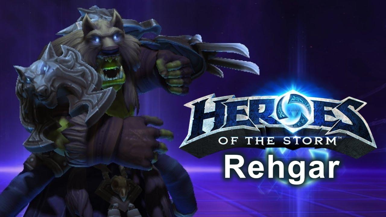 Heroes Of The Storm Build Rehgar