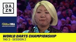Frauen Power: Suzuki startet ins Turnier: World Darts Championship | Tag 3 - Session 2 | DAZN