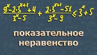 МАТЕМАТИКА ЕГЭ профильный уровень 15 задание НЕРАВЕНСТВА