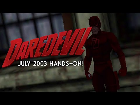 Daredevil: The Man Without Fear   Hands-On With the Unreleased Game for PS2, Xbox, and PC!