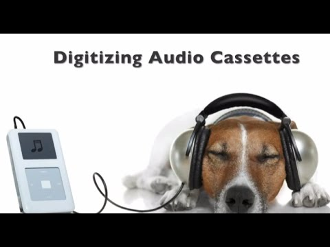 How to convert audio cassettes to digital files  Part 1