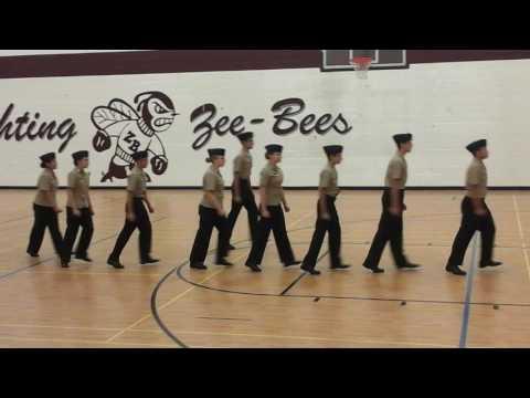 Harold L. Richards NJROTC New Cadet @ Zion Benton 3rd Place 2016-17