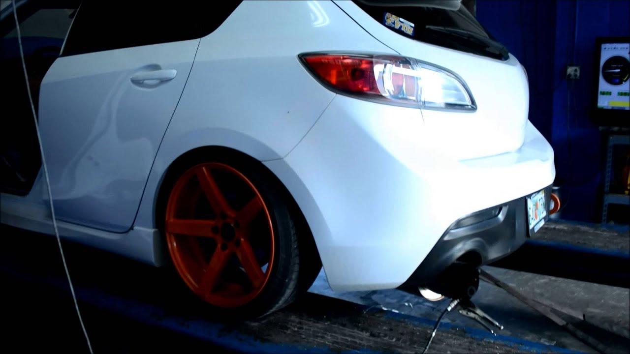 2012 Mazdaspeed 3 Custom Tune Day Youtube