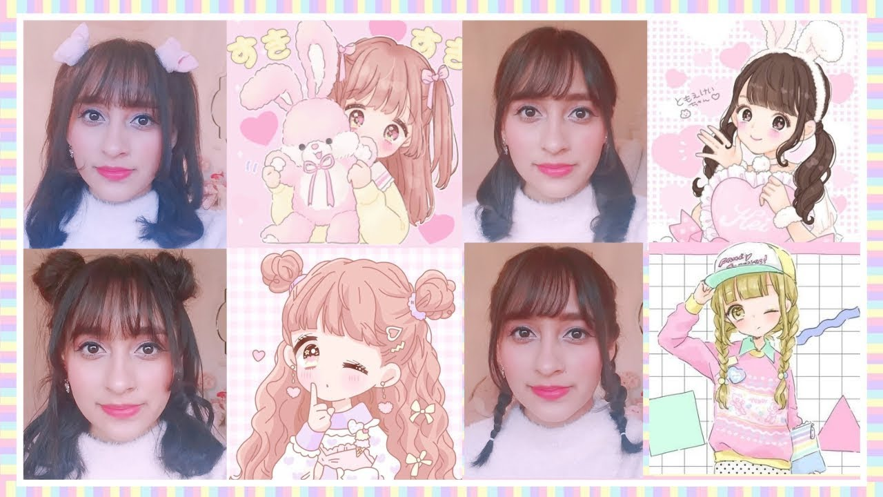 Kawaii Hairstyles Youtube