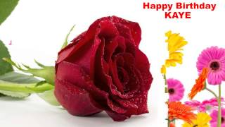 Kaye - flowers - Happy Birthday