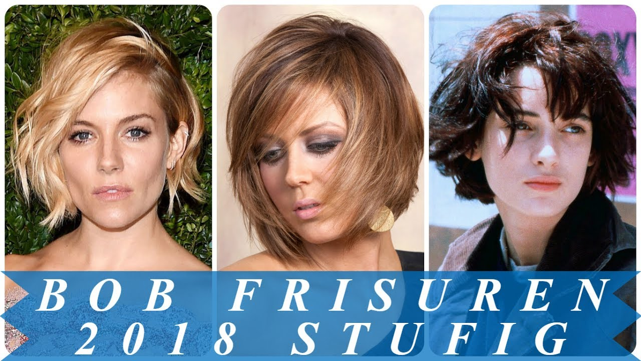 Top Bob Frisuren Stufig Geschnitten 2018 Youtube