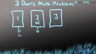 3 Doors Math Problem Solved (from the movie 21)