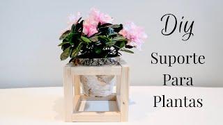 Suporte para plantas muito fácil – Diy