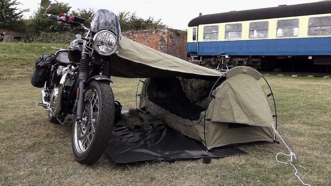 Triumph Bonneville T120 Goose Wingman Of The Road Motorcycle