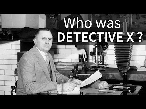 Detective X: (Re) Discovering Wilmer Souder