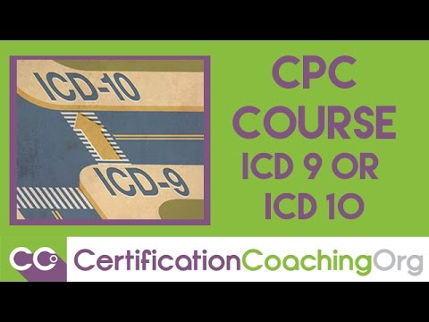 CPC Course ICD-9 or ICD-10 | Medical Coding Training Courses - YouTube