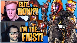 Streamer GETS & Reacts to the New *UNRELEASED* Lava Legends Pack! - Fortnite Moments