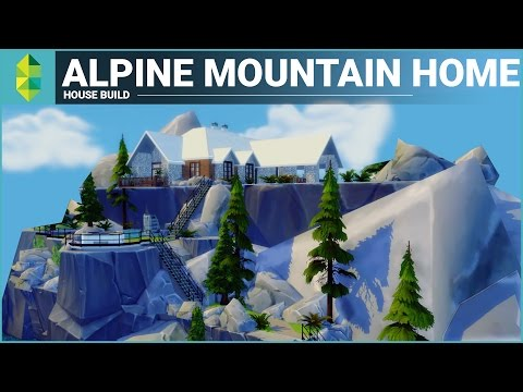 The Sims 4 House Building - Alpine Mountain Home