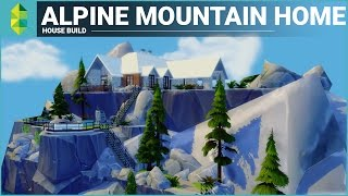 The Sims 4 House Building - Alpine Mountain Home thumbnail