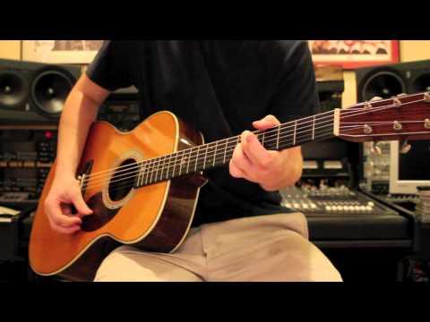 John Mayer - Who Says - Martin OM-28JM