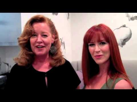 Wella Style Event From Mousy Brown To Red Color Makeover