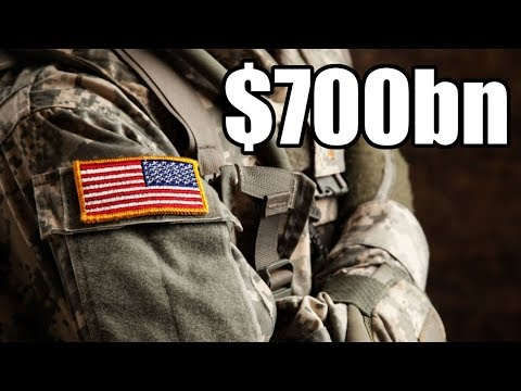 Senate Approves $700bn Increase in Militarization