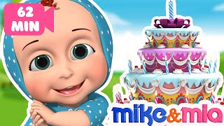 Happy Birthday Song for Kids | Nursery Rhymes and Kids Songs | Happy Birthday to You by Mike and Mia