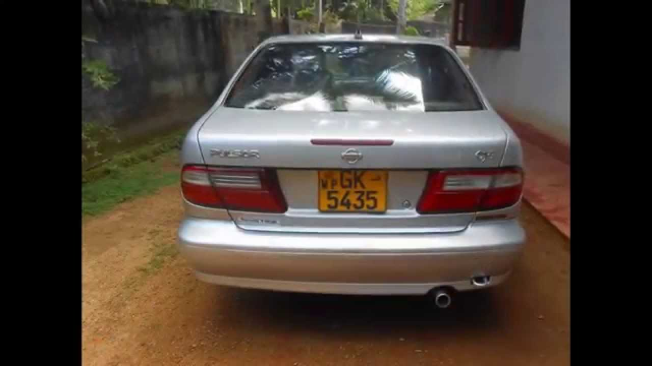 Nissan pulsar car for sale in Srilanka - www.ADSking.lk - YouTube