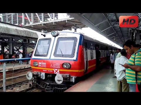 lonavala to pune local arriving at Pune Railway Station
