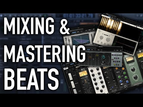 How To Mix And Master Beats In Logic Pro X | Mixing And Mastering Tutorial