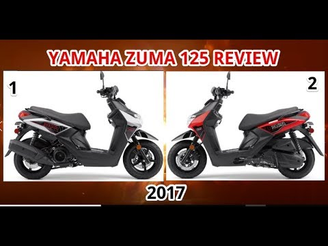 2017 Yamaha Zuma 125 Review