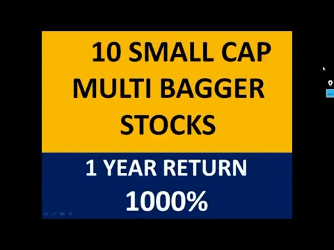 10 SMALL CAP MULTIBAGGER  STOCKS    1 YEAR RETURN 1000%