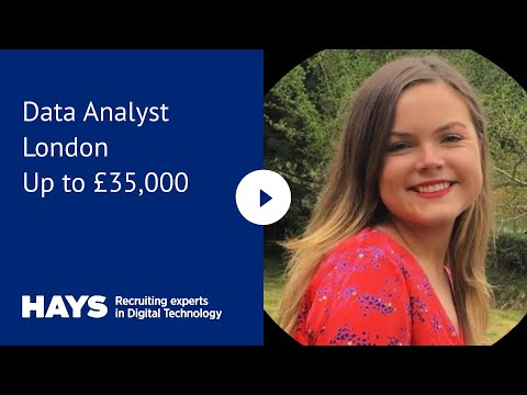 Data Analyst, London, Up To £35,000