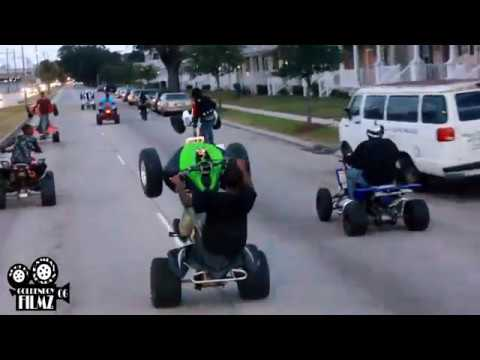 New Orleans Bikelife droppin sauce!