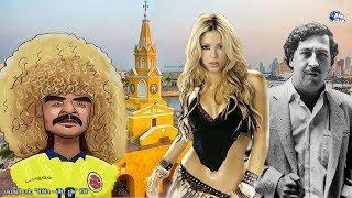 حقائق لا تعرفها عن كولومبيا | بلاد الرقص وكرة القدم - بـلـد شـاكيـرا  و إسـ ـــكوبار  !