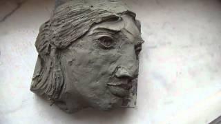 Girl Sculpture 1 detail