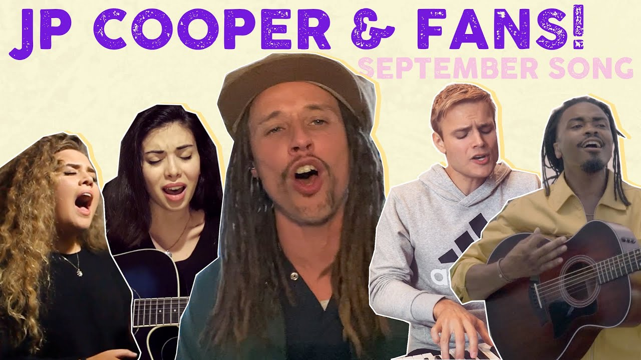 JP Cooper & fans perform September Song!