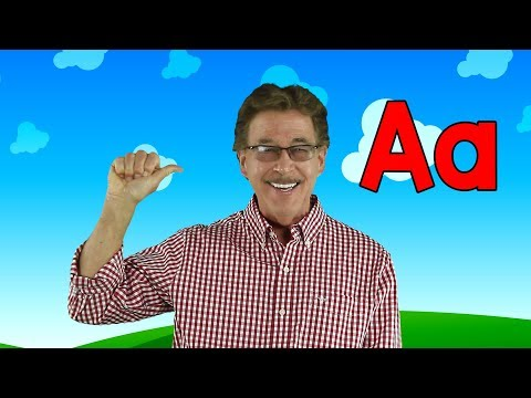 Letter A | Sing and Learn the Letters of the Alphabet | Learn the Letter A | Jack Hartmann