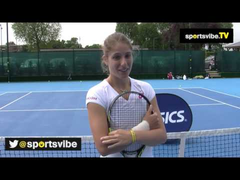 Johanna Konta Interview - The Brit Discusses Playing On Home Soil At Wimbledon