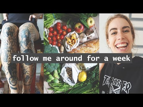 A WEEK IN MY ZERO WASTE LIFE // Getting A Tattoo, Catching A Cold And Buying Treats