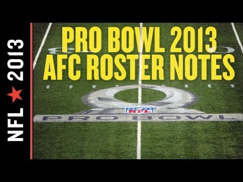 2013 NFL Pro Bowl AFC Roster Replacements